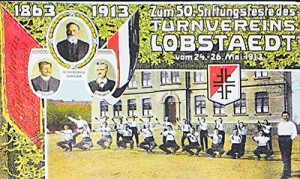 Plakat Stiftungsfest vom 24.05.1913